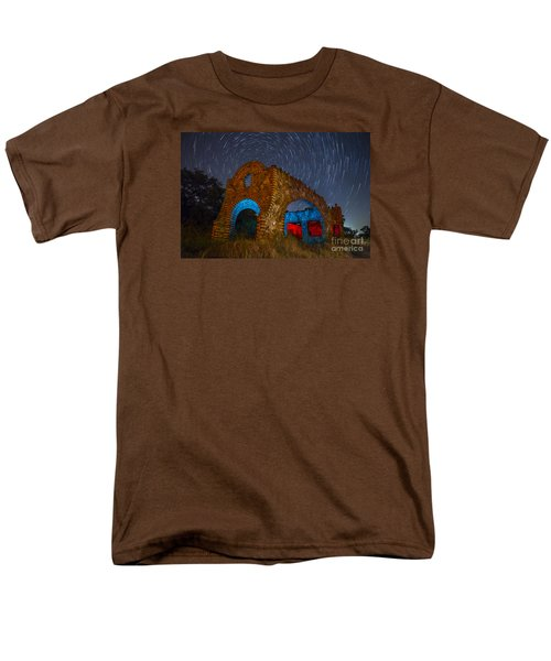 Abandoned Outlaw Gas Station Men's T-Shirt  (Regular Fit) by Keith Kapple