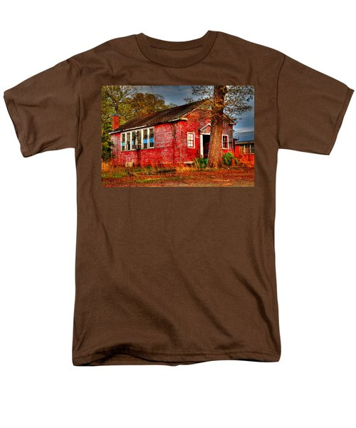 Abandoned School Building Men's T-Shirt  (Regular Fit) by Ester  Rogers