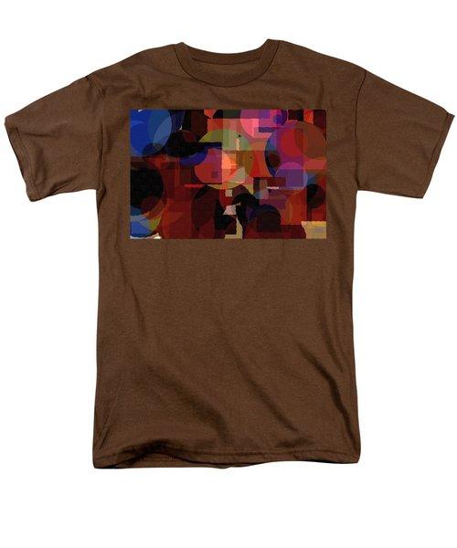 Abstract 33017-2 Men's T-Shirt  (Regular Fit) by Maciek Froncisz