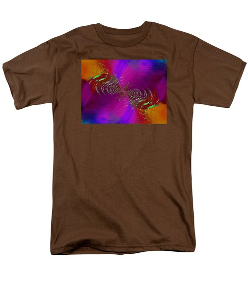 Men's T-Shirt  (Regular Fit) featuring the digital art Abstract Cubed 352 by Tim Allen