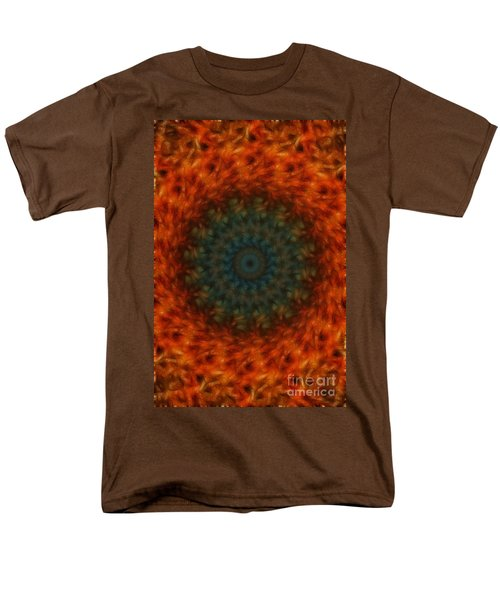Abstract Fractal  Men's T-Shirt  (Regular Fit) by Donna Greene