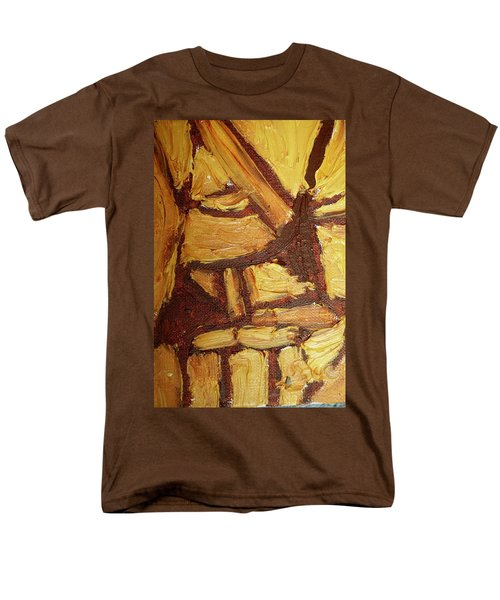 Abstract Lamp Again Men's T-Shirt  (Regular Fit) by Shea Holliman
