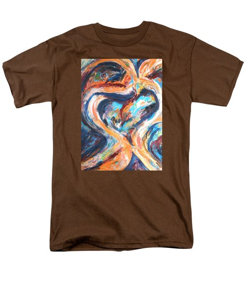 Abstract Of Womb Men's T-Shirt  (Regular Fit) by Esther Newman-Cohen