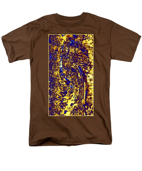 Men's T-Shirt  (Regular Fit) featuring the digital art Abstractmosphere 3 by Will Borden