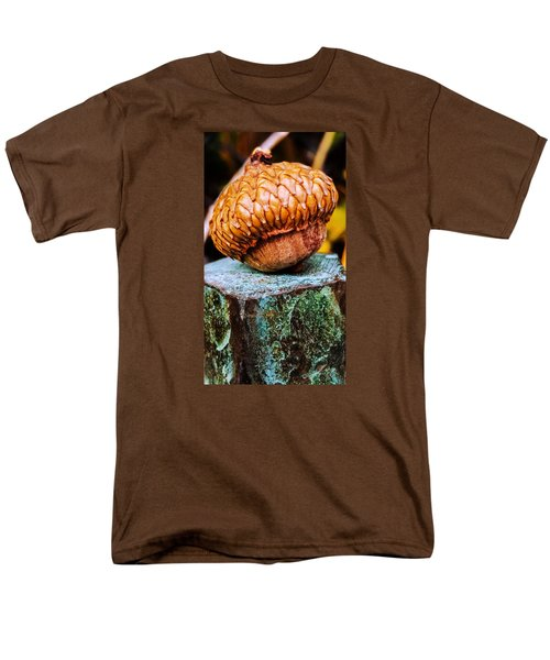 Men's T-Shirt  (Regular Fit) featuring the photograph Acorn by Bruce Carpenter