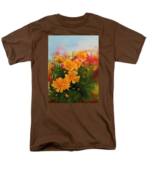Acrylic Msc 216 Men's T-Shirt  (Regular Fit) by Mario Sergio Calzi