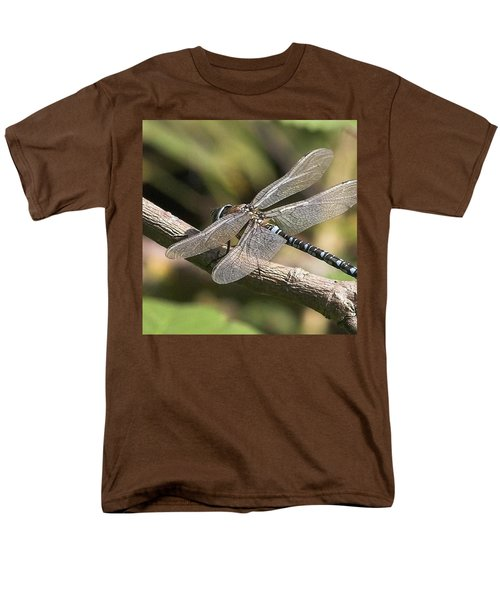 Aeshna Juncea - Common Hawker Taken At Men's T-Shirt  (Regular Fit) by John Edwards