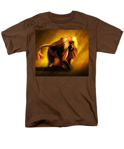 African Gelada Monkey Men's T-Shirt  (Regular Fit) by John Wills