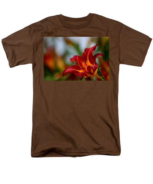 After The Rain Came The Flowers  Men's T-Shirt  (Regular Fit) by Paul SEQUENCE Ferguson             sequence dot net