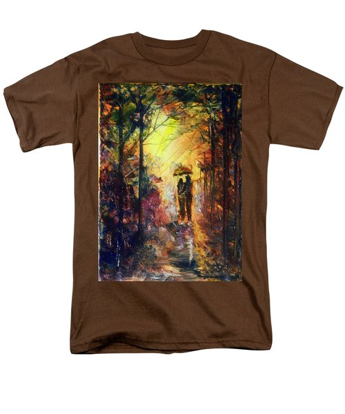 Men's T-Shirt  (Regular Fit) featuring the painting After The Rain by Raymond Doward