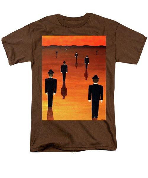 Agents Orange Men's T-Shirt  (Regular Fit)