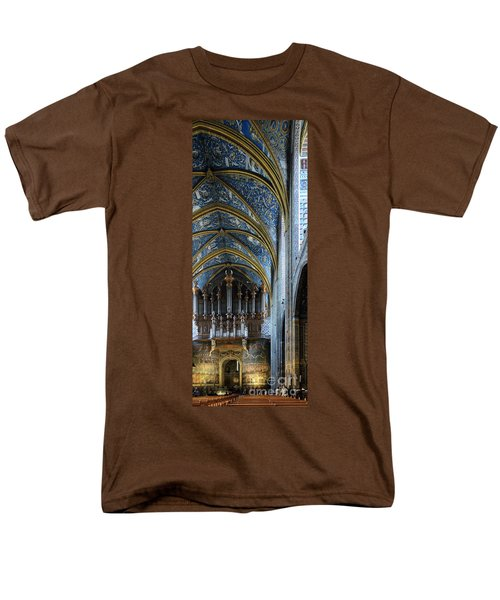 Albi Cathedral Nave Men's T-Shirt  (Regular Fit) by RicardMN Photography