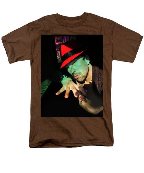 Alien Hat Men's T-Shirt  (Regular Fit) by John Jr Gholson