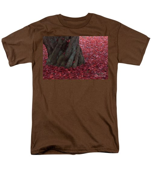 All Red Men's T-Shirt  (Regular Fit) by Steven Macanka