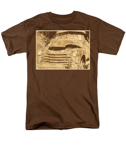 Men's T-Shirt  (Regular Fit) featuring the photograph All Used Up by Victor Montgomery