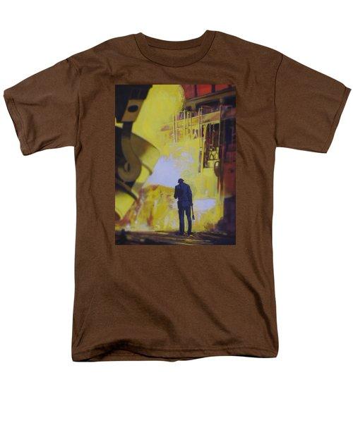 Allen Town Men's T-Shirt  (Regular Fit) by Vivien Rhyan