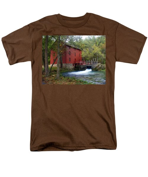 Alley Sprng Mill 3 Men's T-Shirt  (Regular Fit) by Marty Koch