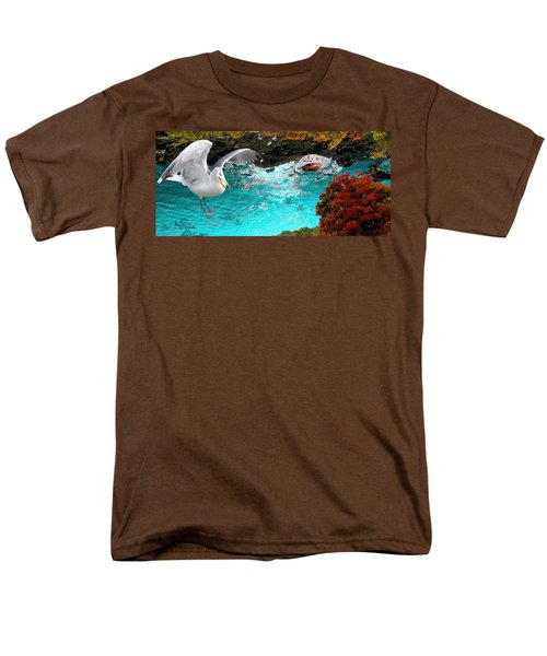 Men's T-Shirt  (Regular Fit) featuring the photograph Allure Of Treats by Mike Breau