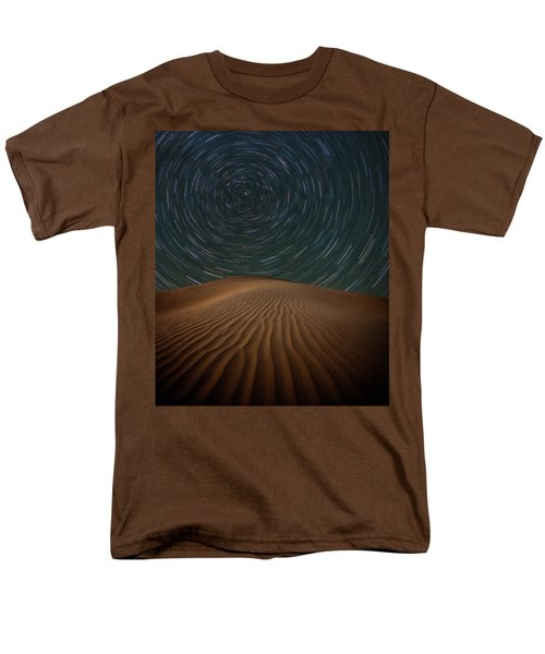 Men's T-Shirt  (Regular Fit) featuring the photograph Alone On The Dunes by Darren White