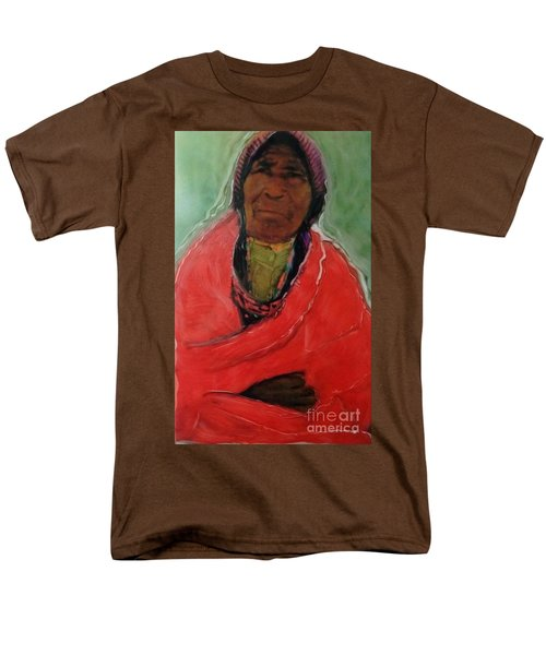 Men's T-Shirt  (Regular Fit) featuring the painting Amazing Grace by FeatherStone Studio Julie A Miller