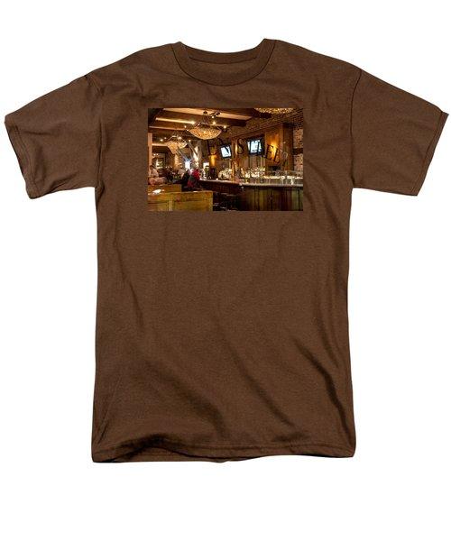 Men's T-Shirt  (Regular Fit) featuring the photograph Amen Street by Allen Carroll