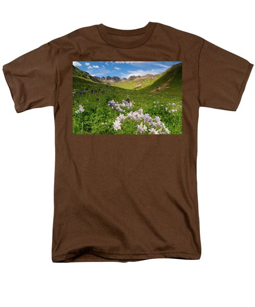 Men's T-Shirt  (Regular Fit) featuring the photograph American Basin by Steve Stuller