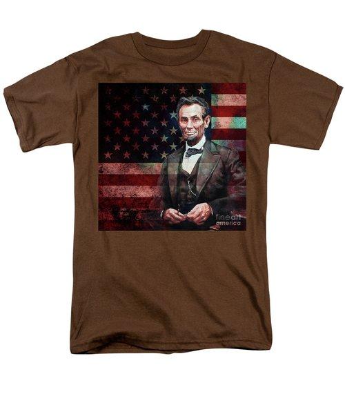 American President Abraham Lincoln 01 Men's T-Shirt  (Regular Fit) by Gull G