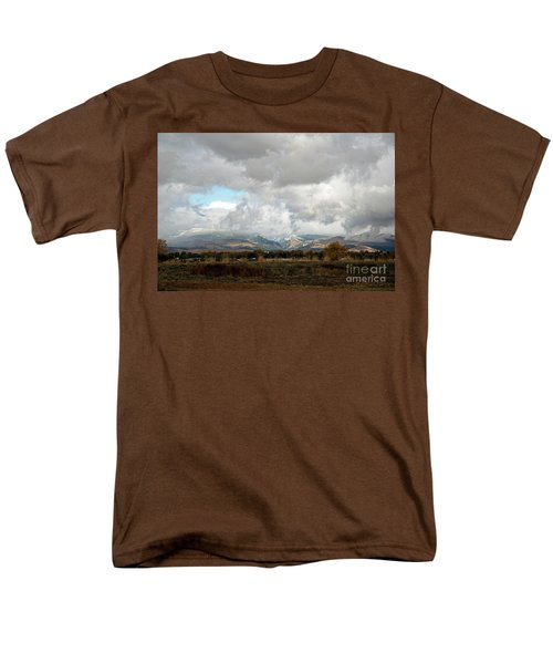 Anaconda Range Men's T-Shirt  (Regular Fit) by Cindy Murphy - NightVisions