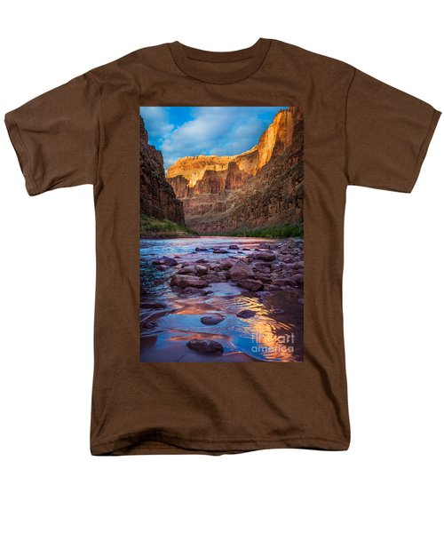 Ancient Shore Men's T-Shirt  (Regular Fit) by Inge Johnsson