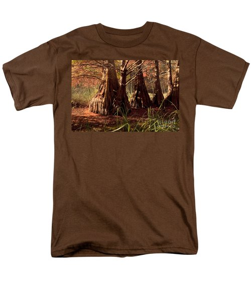 Men's T-Shirt  (Regular Fit) featuring the photograph Ancient Tree At Lake Murray by Tamyra Ayles