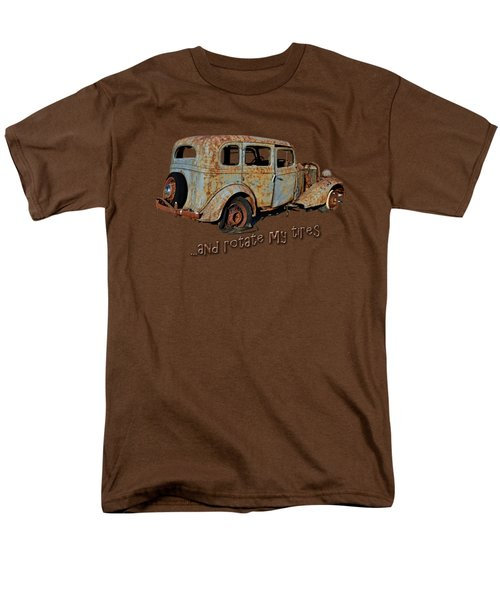 And Rotate My Tires Men's T-Shirt  (Regular Fit) by Larry Bishop