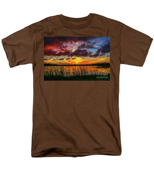 Angry Cloud Sunset Men's T-Shirt  (Regular Fit) by Tom Claud