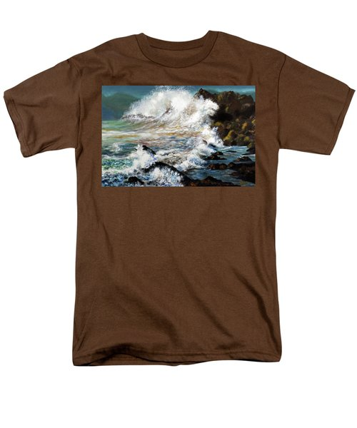 Angry Sea Men's T-Shirt  (Regular Fit) by Walter Fahmy