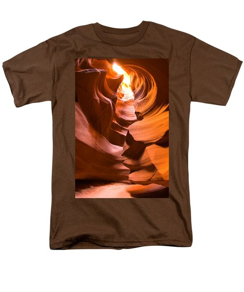 Men's T-Shirt  (Regular Fit) featuring the photograph Antelope Canyon by Harry Spitz