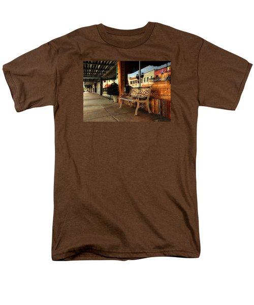 Antique Bench Men's T-Shirt  (Regular Fit) by Ester Rogers