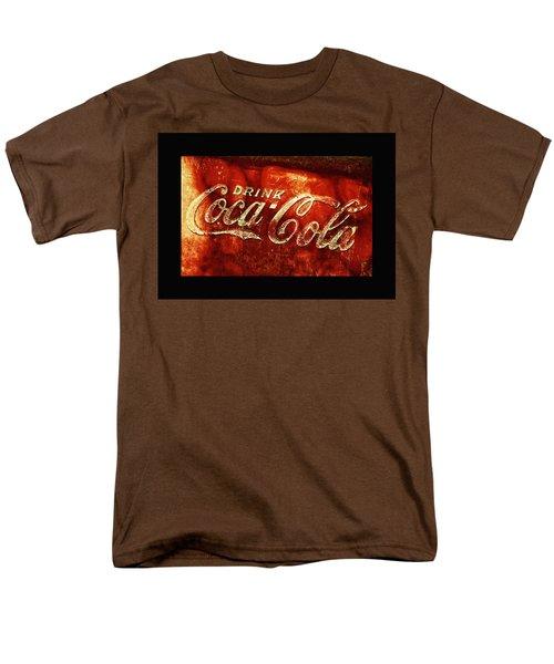 Antique Coca-cola Cooler II Men's T-Shirt  (Regular Fit) by Stephen Anderson
