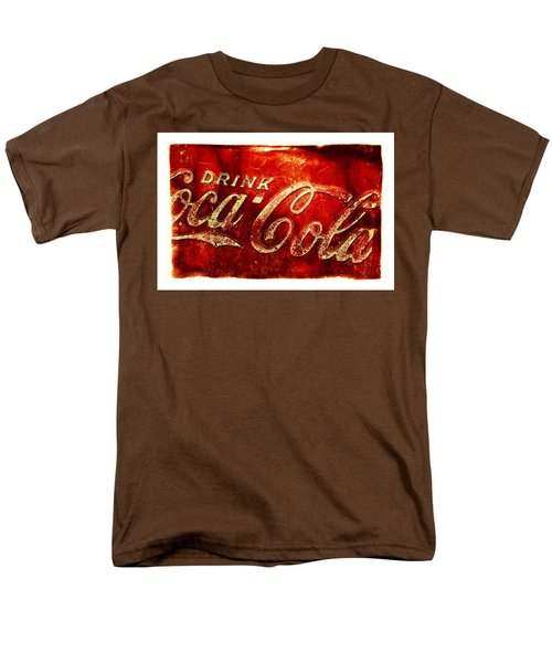 Antique Soda Cooler 2a Men's T-Shirt  (Regular Fit) by Stephen Anderson