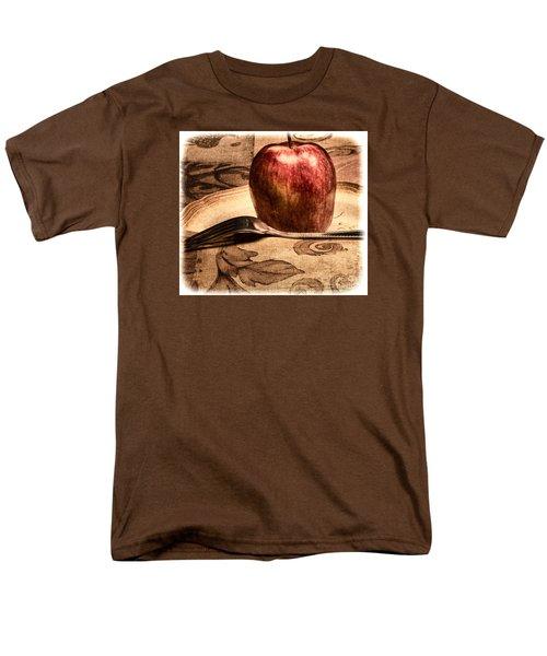 Apple Men's T-Shirt  (Regular Fit)