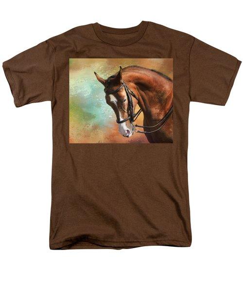 Men's T-Shirt  (Regular Fit) featuring the photograph Arabian Horse by Theresa Tahara