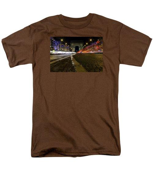 Arc D'triumph With Stripes Men's T-Shirt  (Regular Fit) by Rainer Kersten