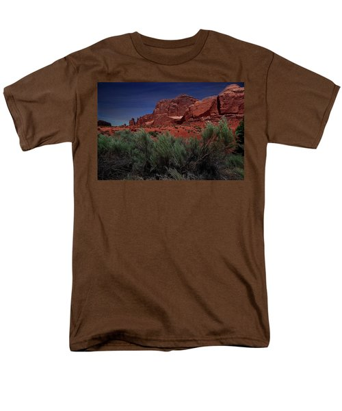 Arches Scene 3 Men's T-Shirt  (Regular Fit)