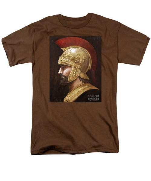 Men's T-Shirt  (Regular Fit) featuring the painting Ares by Arturas Slapsys