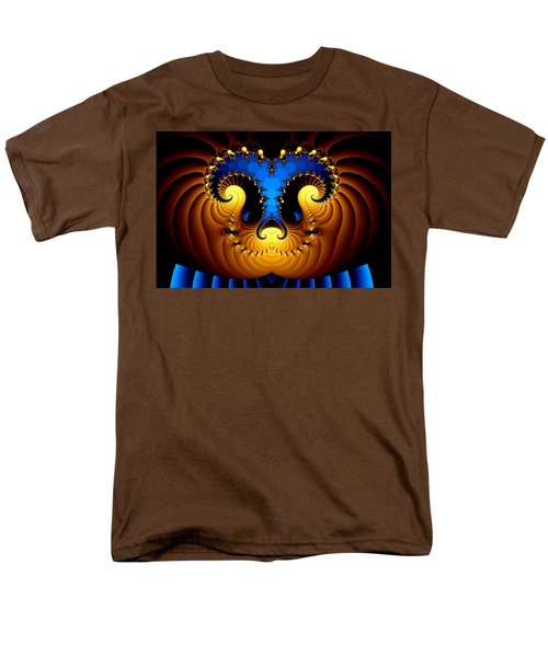 Men's T-Shirt  (Regular Fit) featuring the digital art Aries by Svetlana Nikolova