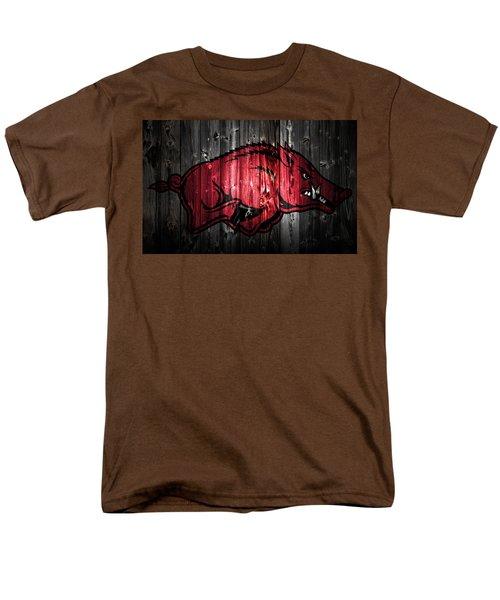 Arkansas Razorbacks 2a Men's T-Shirt  (Regular Fit) by Brian Reaves