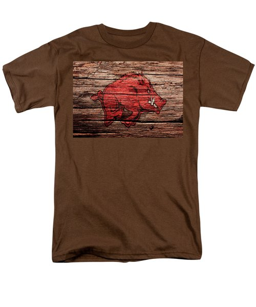 Arkansas Razorbacks Men's T-Shirt  (Regular Fit) by Brian Reaves