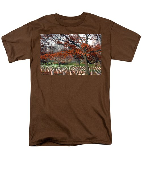 Arlington Cemetery In Fall Men's T-Shirt  (Regular Fit) by Carolyn Marshall