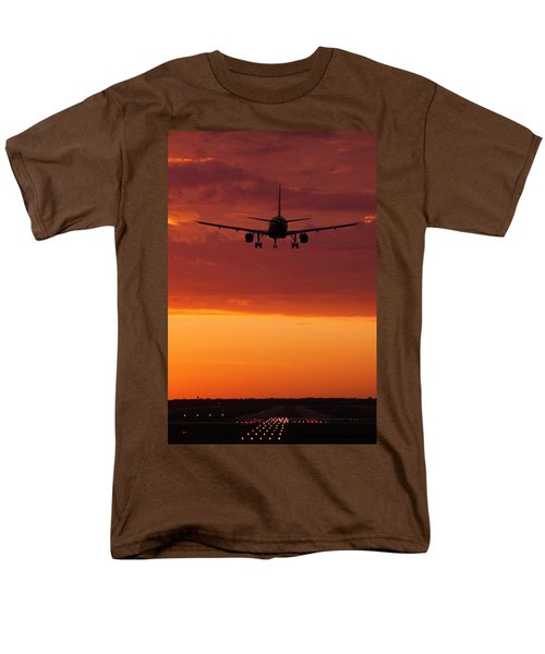 Arriving At Day's End Men's T-Shirt  (Regular Fit) by Andrew Soundarajan