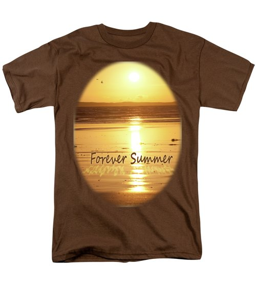 Men's T-Shirt  (Regular Fit) featuring the photograph Forever Summer 4 by Linda Lees