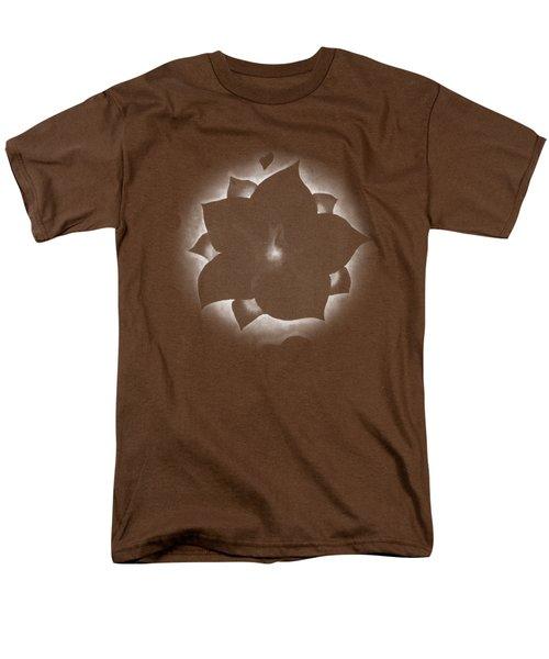 Fleur Et Coeurs Monochrome Men's T-Shirt  (Regular Fit) by Marc Philippe Joly