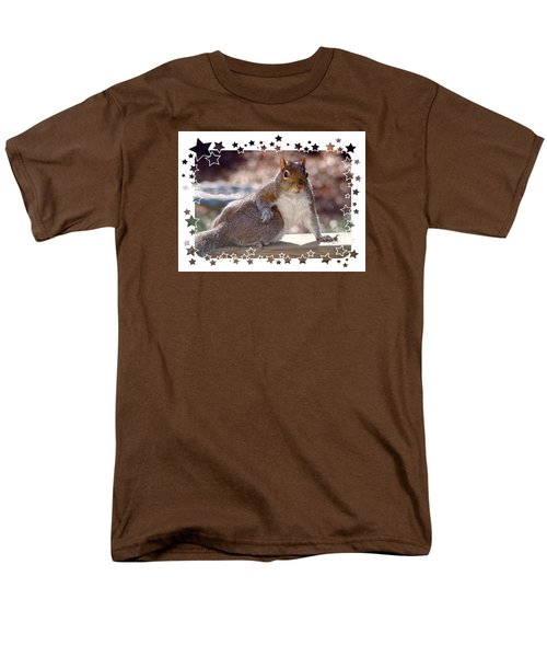 Men's T-Shirt  (Regular Fit) featuring the photograph The Show Off by Sue Melvin
